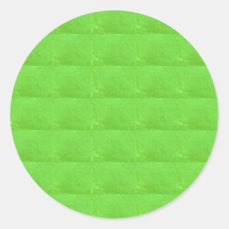 他の形への水晶緑のカスタマイズ可能 ラウンドシール