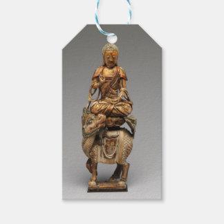 付随の菩薩の仏Shakyamuni ギフトタグ