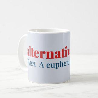 代わりとなる事実の名詞。 うそのための婉曲的表現 コーヒーマグカップ