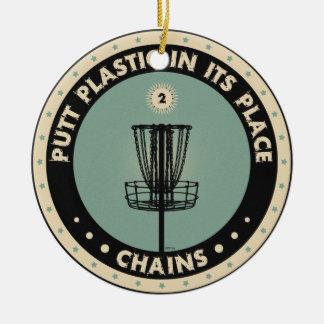 代わりにパットのプラスチック セラミックオーナメント