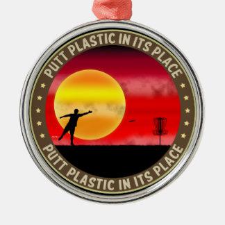 代わりにパットのプラスチック メタルオーナメント