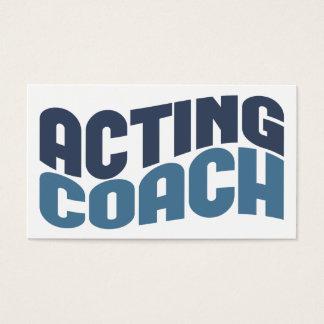 代理のコーチの名刺 名刺
