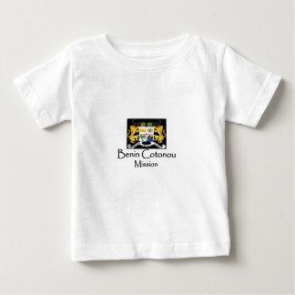 代表団のTシャツLDSベニンの紋章付き外衣 ベビーTシャツ