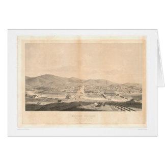 代表団ドロレス、サンフランシスコ1860年(1097A) カード