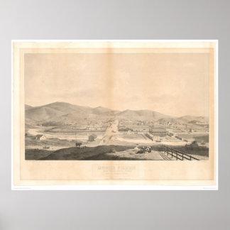 代表団ドロレス、サンフランシスコ1860年(1097A) ポスター