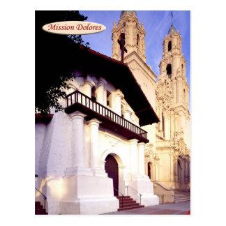 代表団ドロレス、サンフランシスコ、カリフォルニア ポストカード