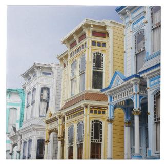 代表団地区の多彩でビクトリアンな家 タイル