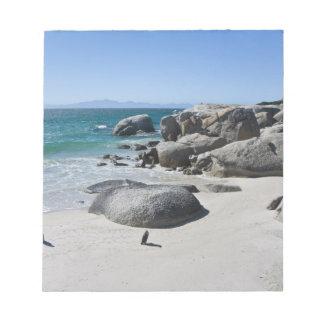 以前ろば3として知られているアフリカのペンギン、 ノートパッド