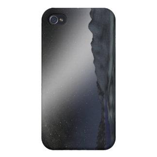 仮説的な外国の惑星からの夜空 iPhone 4 ケース
