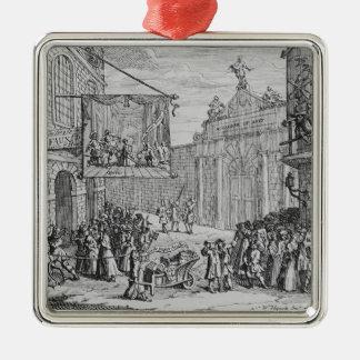 仮面舞踏会およびオペラのバーリントンのゲート1724年 メタルオーナメント