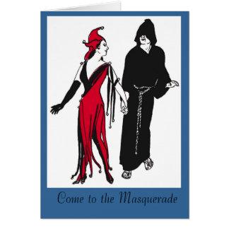 仮面舞踏会に来られる カード