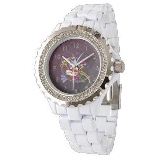 仲の良い恋人同士の入れ墨のデザイン 腕時計