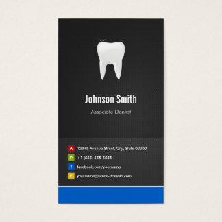 仲間の歯科医-歯科創造的な革新的 名刺