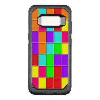 任意に整理されるTaquinの多彩のタイル オッターボックスコミューターSamsung Galaxy S8 ケース