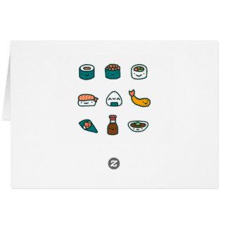 任意寿司- カード