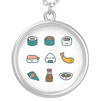 任意寿司- シルバープレートネックレス