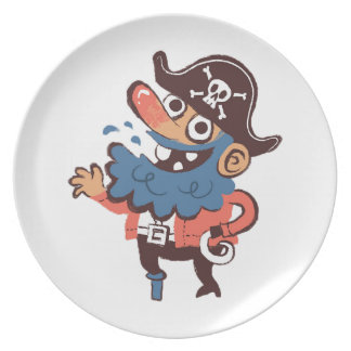 任意海賊- プレート