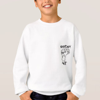 任意芸術のロゴ スウェットシャツ