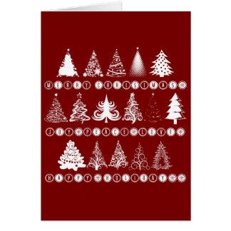 企業のなクリスマスの挨拶 カード