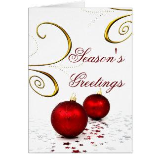 企業のなクリスマスカード カード