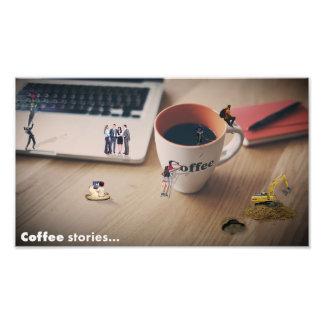 企業のなコーヒー物語 フォトプリント
