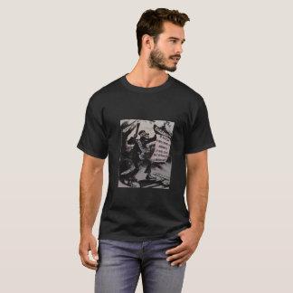 企業のなファシズムの死神の綿のTシャツ Tシャツ