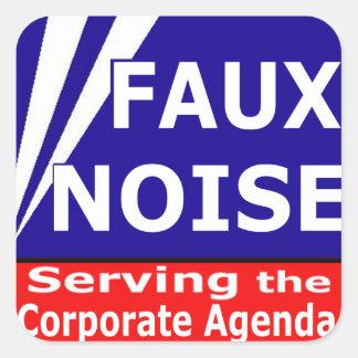 企業のな議題を機能する模造のな騒音 スクエアシール