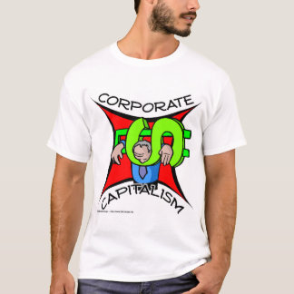 企業のな資本主義 Tシャツ