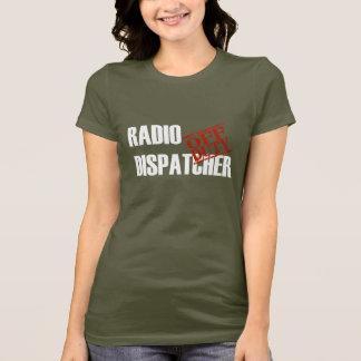 休みの無線のディスパッチャー Tシャツ