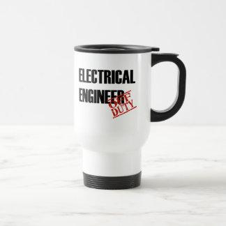 休みの電気技師 トラベルマグ