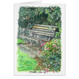 休息のベンチ カード