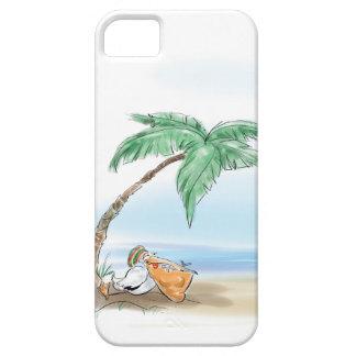 休息のペリカン iPhone SE/5/5s ケース