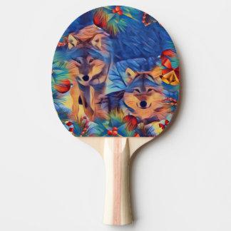休日のオオカミ 卓球ラケット