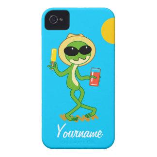 休日のカエル Case-Mate iPhone 4 ケース