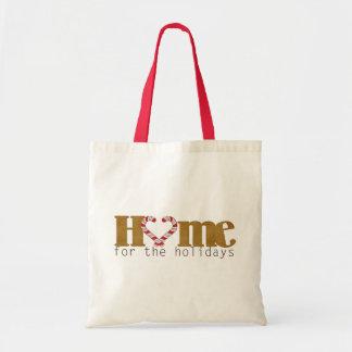 休日のギフトバッグのための家 トートバッグ