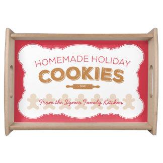 休日のクッキーの皿 トレー