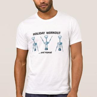 休日のトレーニング Tシャツ