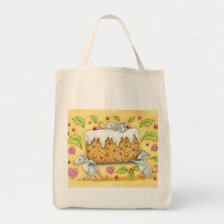 休日のネズミの買い物袋-ネズミとの生命のバッグ トートバッグ