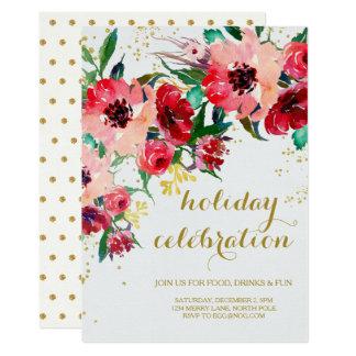 休日のパーティの招待状 カード