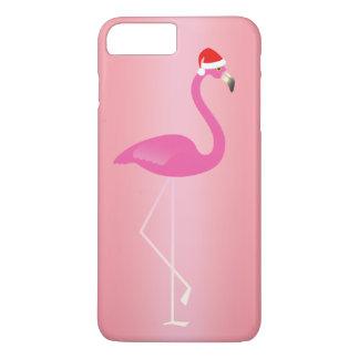 休日のフラミンゴのiPhone 7はの上がりました iPhone 8 Plus/7 Plusケース
