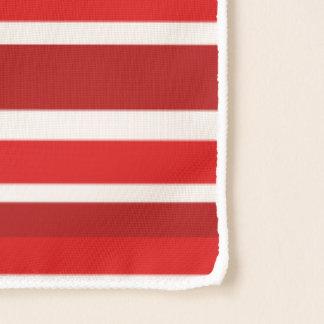 休日のペパーミントは縞で飾ります スカーフ