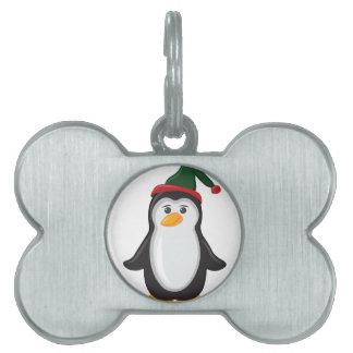 休日のペンギン ペットネームタグ