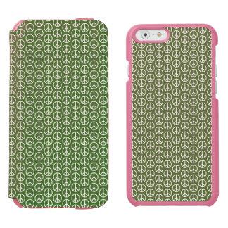 休日のマツ緑のピースサイン INCIPIO WATSON™ iPhone 5 財布型ケース
