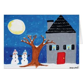 休日の家 カード
