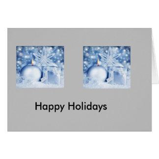 休日の挨拶状 カード