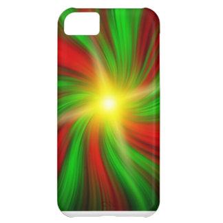 休日の渦のiPhone 5cカバーで破烈する星 iPhone5Cケース