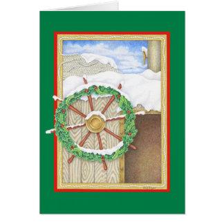 休日の舵輪 カード