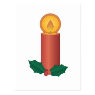 休日の蝋燭 ポストカード