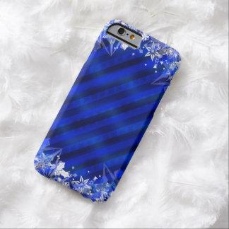 休日の青い包むこと及び雪片 BARELY THERE iPhone 6 ケース