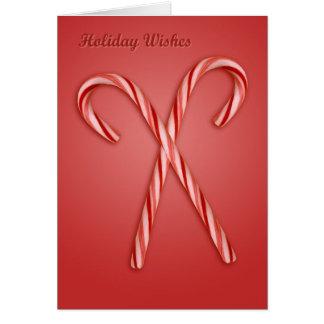 休日の願い カード